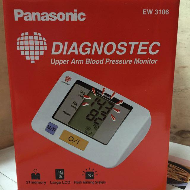 Panasonic 上臂式血壓計EW 3106