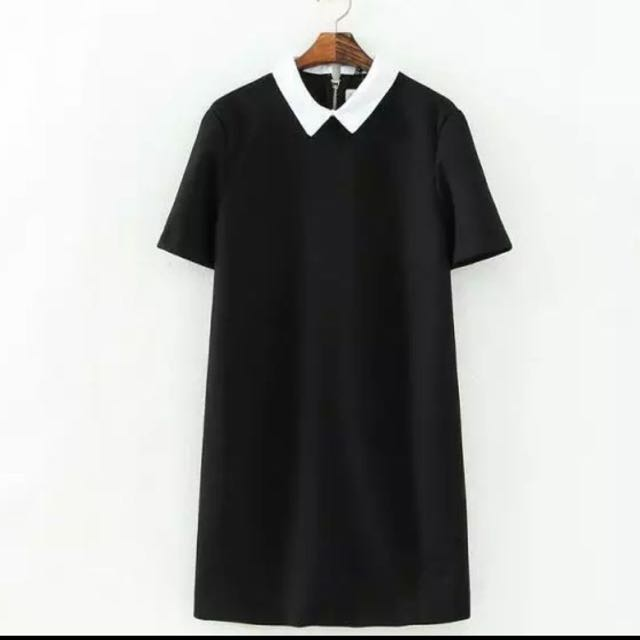 Peterpan Collared Shift Dress