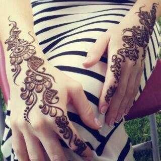Bridal Henna For Engagement..
