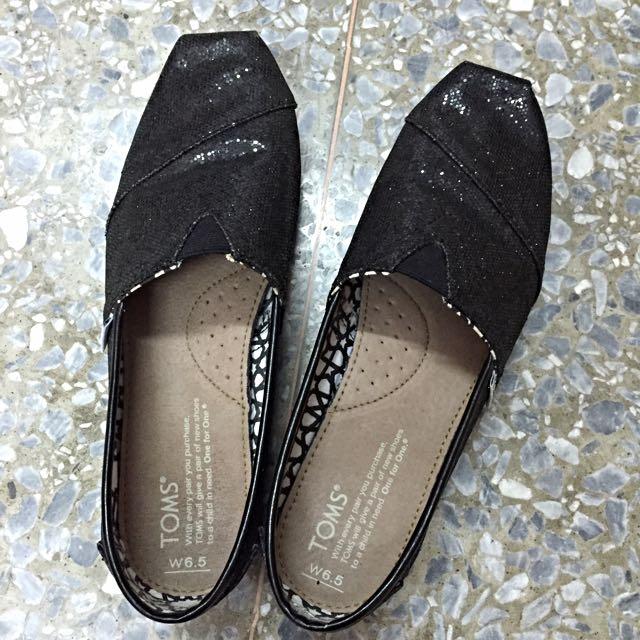 女6.5y 正版Toms 副鞋盒