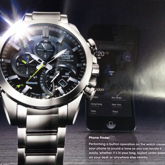 ed28a8871199 Casio Edifice EQB-500D Bluetooth Mens Watch
