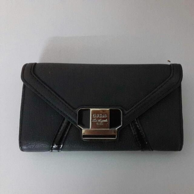 [Repriced] Guess Black Wallet