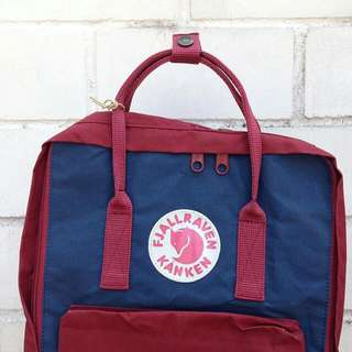 Authentic Royalblue-Oxred Kanken (PRICE REDUCED)