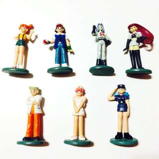 Pokemon Human Figures