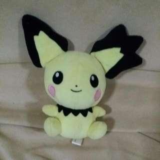 Spiky Ear Pichu Pokedoll