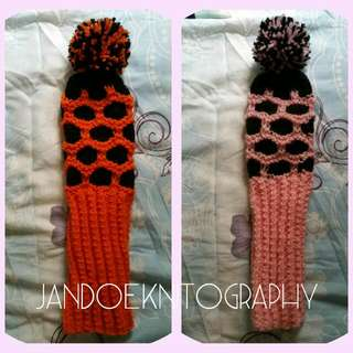 Golf Club Cover Knitted
