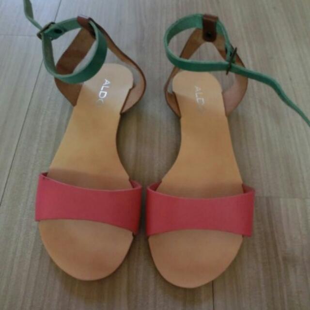全新ALDO涼鞋