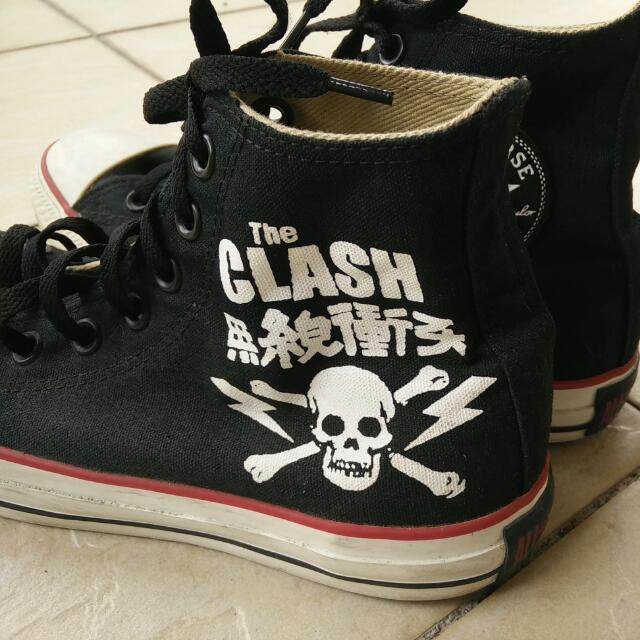 68d90bc153e Converse X The clash
