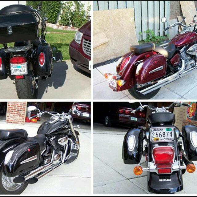 Hard Saddlebag/ Cruiser Saddlebag / Universal Hard Saddlebag/ Mutazu saddle