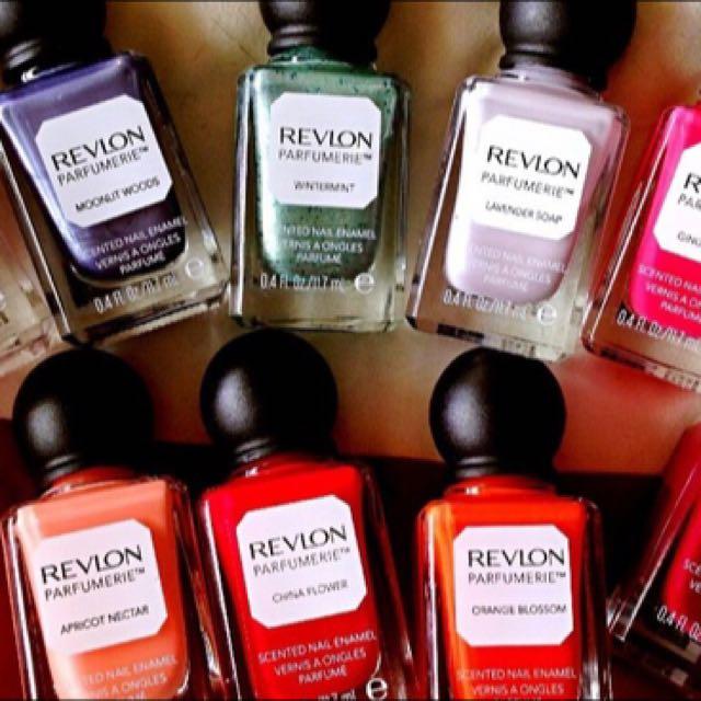 Revlon調香師訂製指甲油