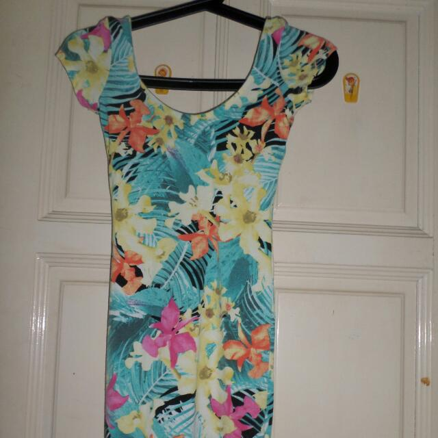 [Used] Bershka Floral Dress