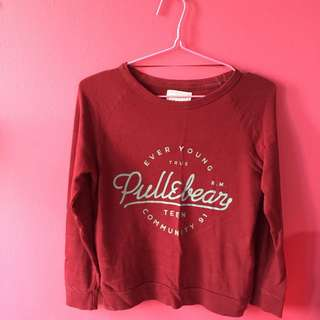 Authentic Pull & Bear Pullover