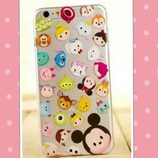 Iphone 6+ Tsum Tsum Design Soft Casing