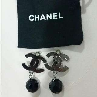 Chanel Classic Earrings  Hardly Use. Comes With Box,dust Bag. No Receipt. Can't Find. PM 96688328