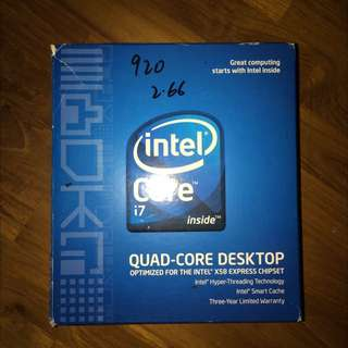i7 920 2.66GHz CPU for Sale!