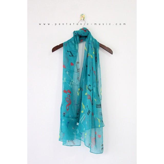 Greenie Music Pashmina