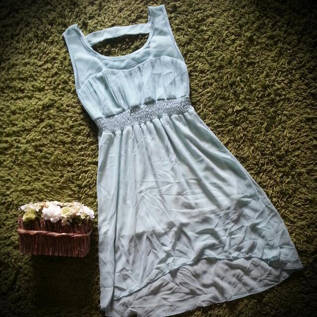 Light Turquoise Dress