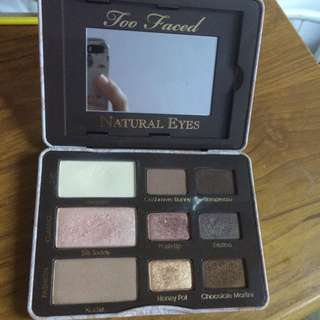 *RESERVED: Too Faced Natural Eyes