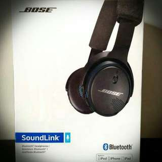 Bose soundlink bluetooth headphone