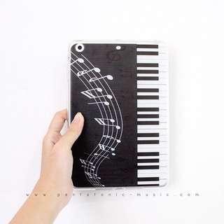 Black Piano iPad Mini SoftCase