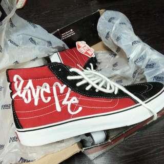 Love Me X Vans Sz Us10 For $55