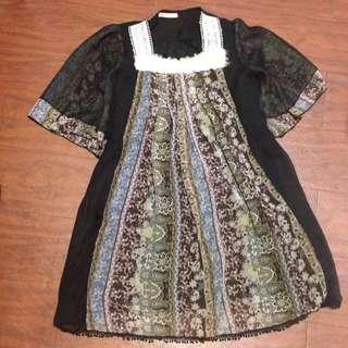 日牌 Lowrys Farm 雪紡洋裝