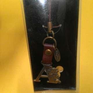 迪士尼~米奇手機吊飾