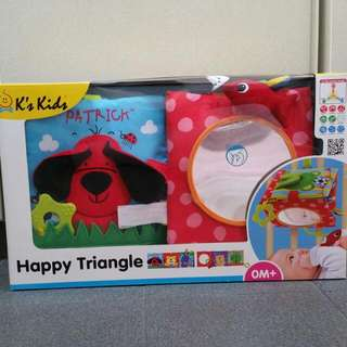(Reduced PRICE) BNIB - K'S KIDS Happy Triangle