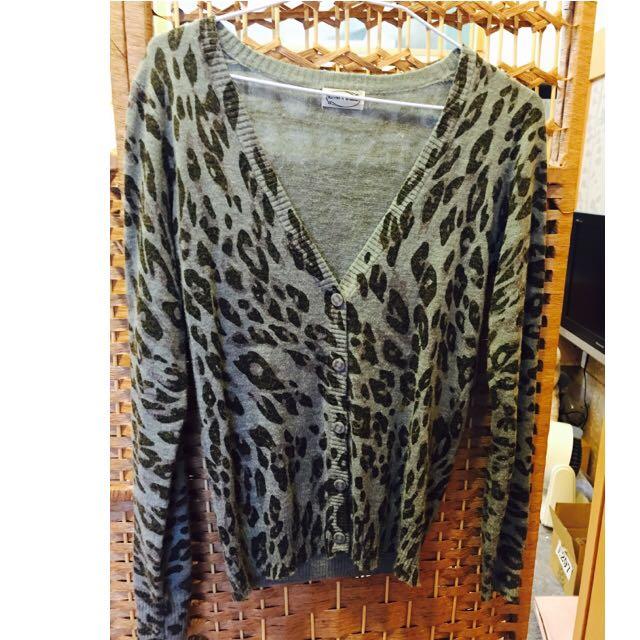 豹紋小外套