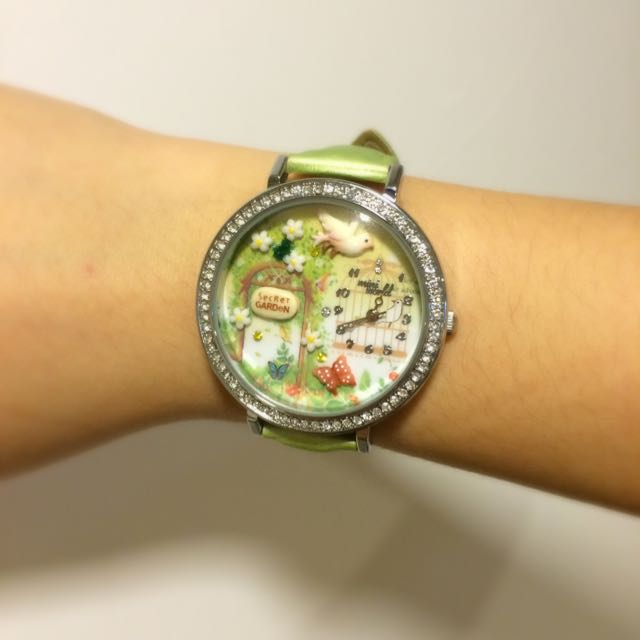 Green Garden 立體裝飾手錶