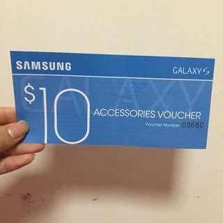 Samsung Accessories Voucher