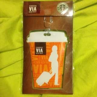 Starbucks 行李吊牌