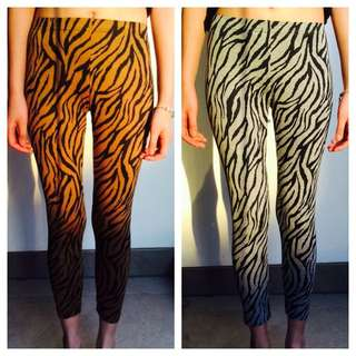 [NEW WITH TAGS] Tiger Print Tights
