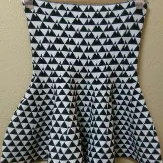 再降價!!!針織彈性平口兩穿小洋裝(可當高腰裙)