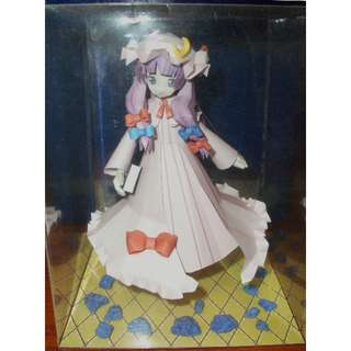 Touhou Patchouli Knowledge handmade paper doll