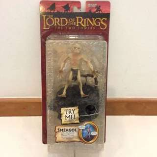 LOTR Lord of The Rings Smeagol TTT MOSC. What you see is what you get.