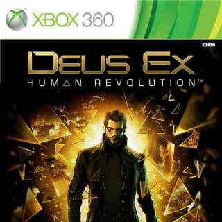 (RE STOCK) Deus Ex Human Revolution xbox 360 bestseller game