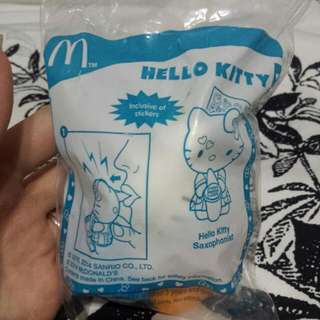 Hello Kitty Saxophonist (Mcd Happy Meal Toy)