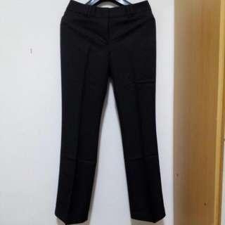 🚚 全新G2000深咖啡色小喇叭西裝褲size:7/38