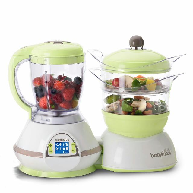 Brand New Babymoov Food Processor + Warmer