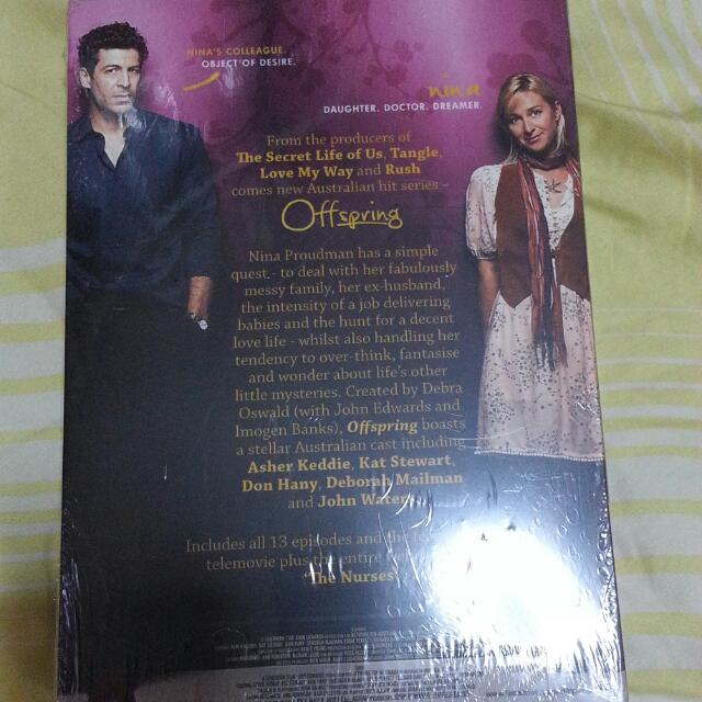 "DVD's Telemovie Titled ""Offspring"".  ( Brand New/ Sealed)"