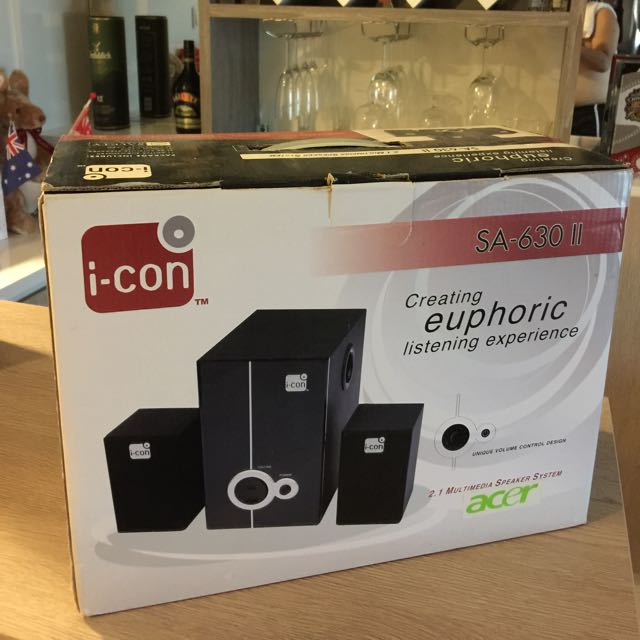 Repriced: I-con 2.1 Multimedia speaker System