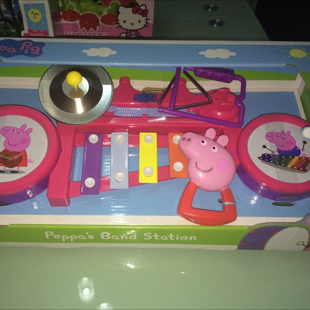 [Price Reduced] Peppa Pig's Band Station