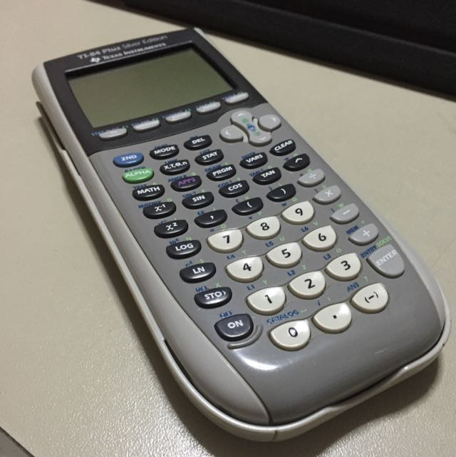 TI 84 Plus Silver Edition Texas Instruments Graphing Calculator