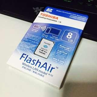 Toshiba FlashAir Wireless LAN W-02 BNIB