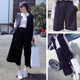 全新&韓國氣質時髦闊腿褲