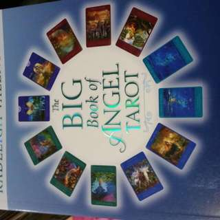 Big Book Of ANGEL TAROT READING by Doreen Virtue