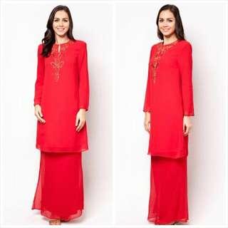 Baju Kurung With Beading By Jasmina Collection