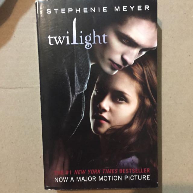 (二手)暮光之城 原文小說 Twilight