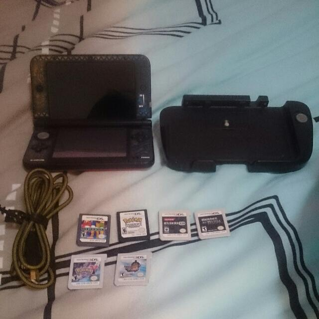 Dirt Cheap!! 3DS XL With Games And Accessories!